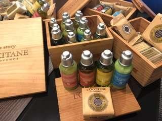 Authentic L'Occitane 50mL bath set for only PHP550!!!