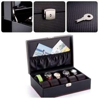 Weekly offer-10slots High Grade Watch Box with Key Lock
