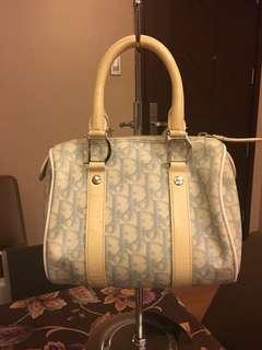 Authentic Christian Dior Baby Blue Speedy 20
