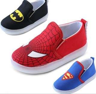 Kids Canvas Superhero Shoe ( Size 24,25)