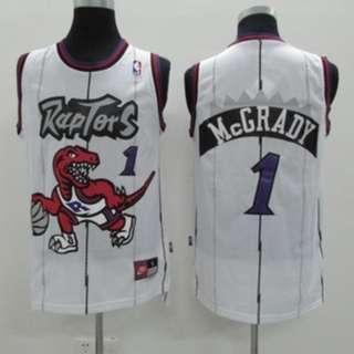 NBA Toronto Rapters Tracy McGrady Blue Vintage Swingman Jersey