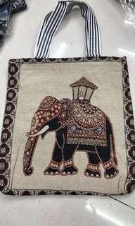 【泰國】大象帆布包
