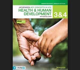 Health and Human Development 3/4