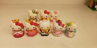 Sanrio Hello Kitty 絕版膠公仔