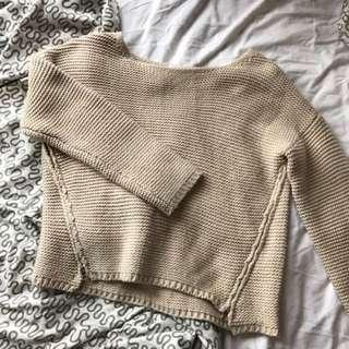 Mossman Nude Knitted Jumper