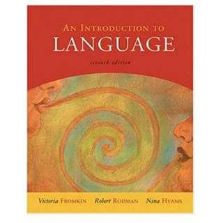🚚 《An Introduction to Language》語言學導論