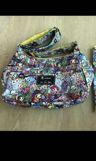 EUC Jujube Tokidoki Sea Amo Hobobe (Complete set with BN Changing Pad)