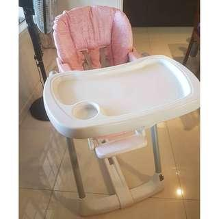 PEG PEREGO Prima Pappa Diner High Chair Made in Italy Php14000+++