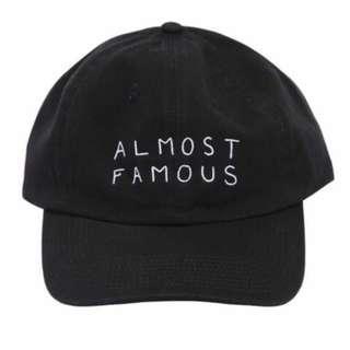 🚚 《二手》NASAESSONS電繡老帽ALMOST FAMOUS