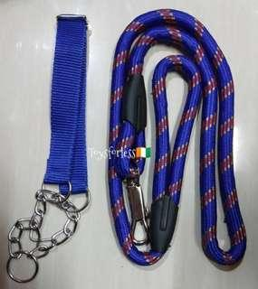 Dog leash for large breed dogs heavy duty
