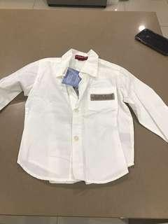 Guess Long sleeve shirt. Size 24m. Brand New with Tags