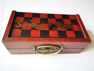 Wooden Chess Set (Qing Dynasty Emperor)