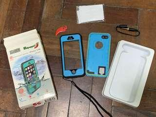 Waterproof Case for iPhone 5,5s,5SE