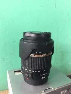 Lensa Tamron 18-270mm for Canon