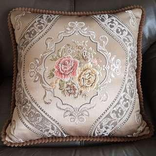 Cushion Cover with Beautiful Embroidery - Set of 2