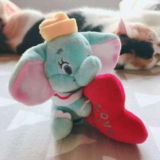 🚚 香港迪士尼小飛象吊飾-正版!