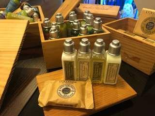 Authentic L'Occitane 30mL bath set for only PHP350