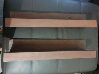 Palochina 2 Layer Wooden Shelves