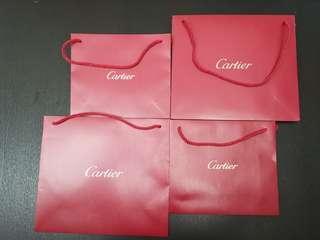 (BN)Authentic Cartier Paper Bag