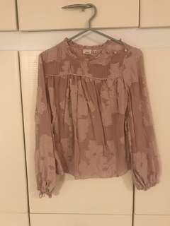 Aritzia blouse by Wilfred