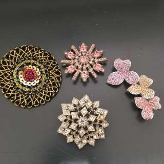 Set of Brooch Pins
