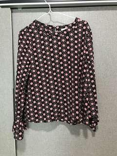 Printed blouse