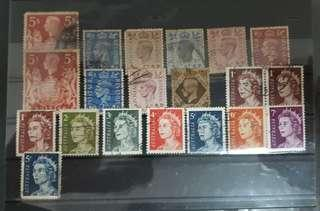 World stamps used