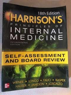 Medical Textbook: Harrison's 18th Ed. Self Assessment and Board Review