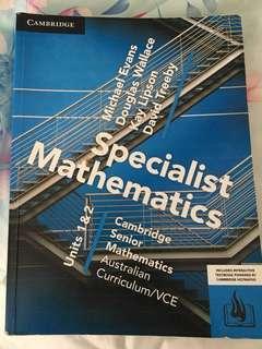 Specialist math textbook