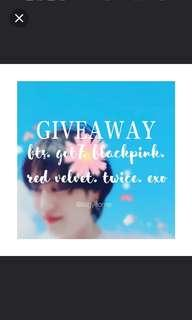@ITSGYEOMIE'S GIVEAWAY