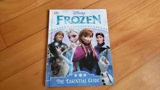 Frozen The Essential Guide 9.5成新
