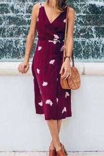 Brandnew wrap dress from BKK