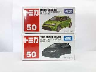 Tomica 車仔 50  Ford Focus RS