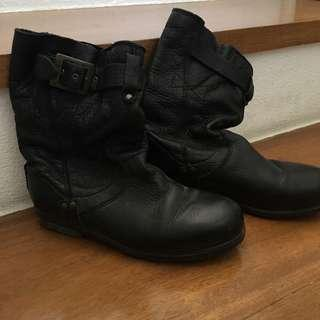 Palladium Womens Leather Boots