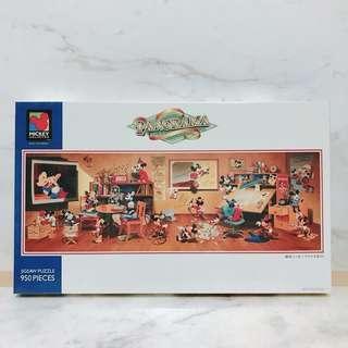 🚚 迪士尼 米奇 歷代米老鼠大集合 950片 絕版拼圖