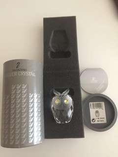"""Swarovski Crystal """"Owl"""""""