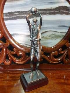 Basketball player  statue tall piece decor or as trophy