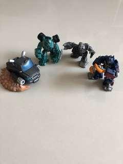 Habsro Transformers 4pcs Optimus Prime Megatron