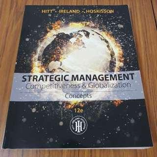 Strategic Management: Competitiveness & Globalization