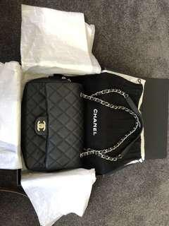 Authentic Chanel clap bag with original boxing