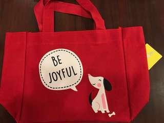 Be Joyful tote bag with handles