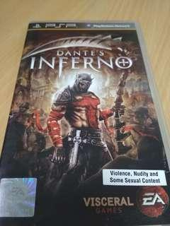 PSP Dante's Inferno for sale
