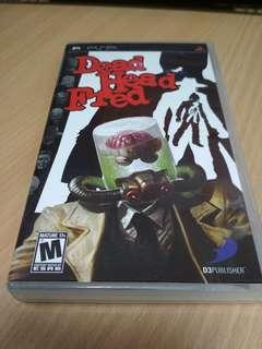 PSP Dead Head Fred game for sale
