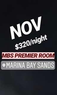 NOV MBS HOTEL PREMIER ROOM NOT DELUXE . Choose your dates