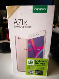 [NEW] Oppo A71k (Maxis Set)