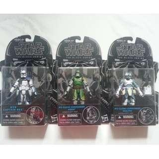 Star Wars Clone Commander Doom Rex & Wolfe