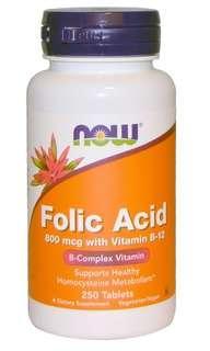 Vitamin B with folic acid