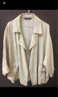 Zara寬鬆短版外套