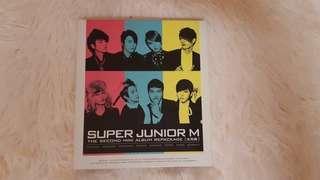 Super Junior M second mini album repackage