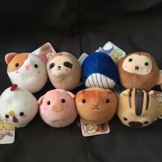 日本得意動物公仔 animals